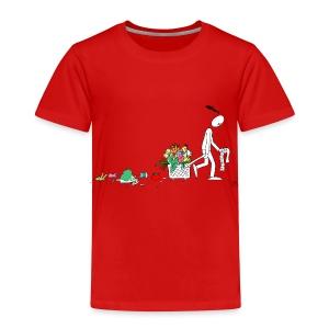 frukt og grønt handleveske - Premium T-skjorte for barn