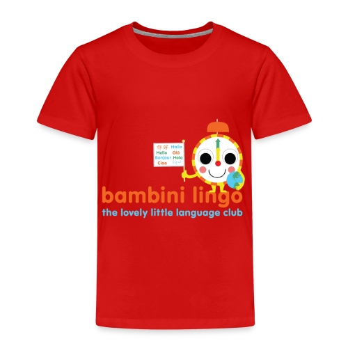 bambini lingo - the lovely little language club - Kids' Premium T-Shirt