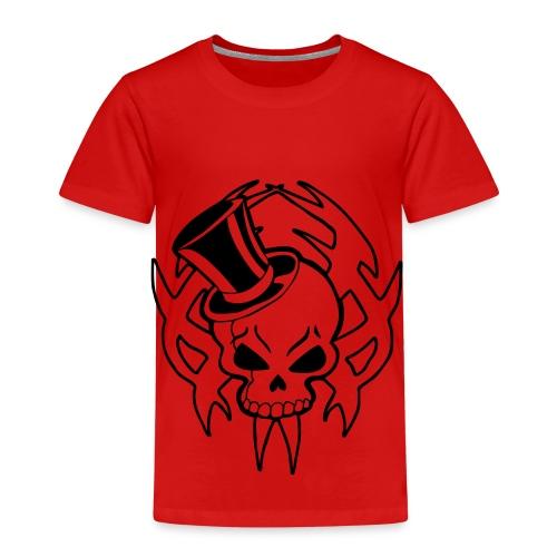 snazzy skull - Kids' Premium T-Shirt