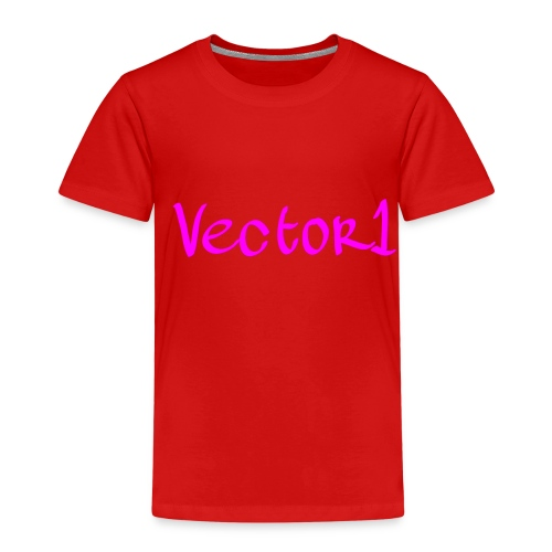 Vector1 Limited Edition Clothing Line 1 - Kids' Premium T-Shirt