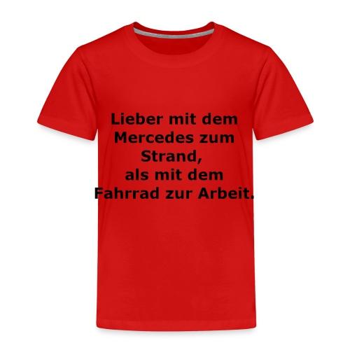 Fun-Shirt Mercedes - Kinder Premium T-Shirt