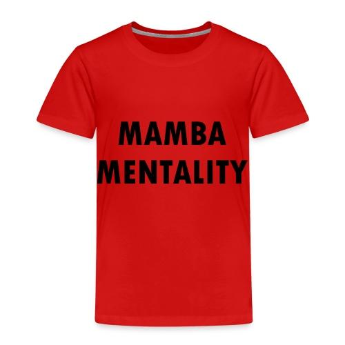 Mamba Mentality - Kobe Bryant - Kinder Premium T-Shirt