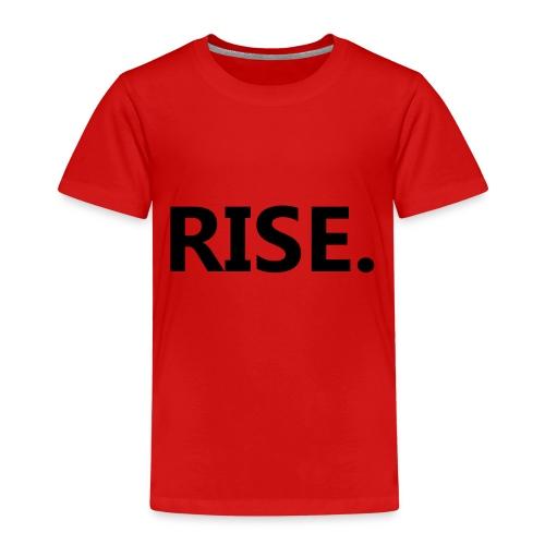 RISE. - Training & Motivation im Sport - Kinder Premium T-Shirt