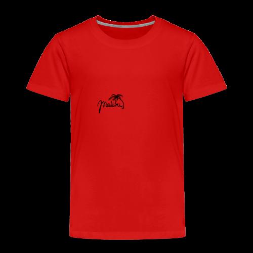 Malibu black - Kinder Premium T-Shirt
