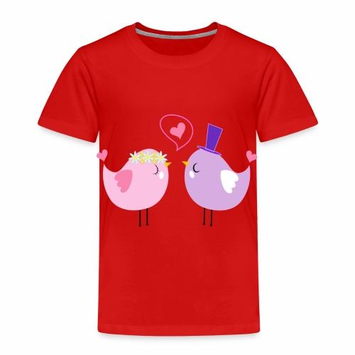 Tortolos enamorados - Camiseta premium niño