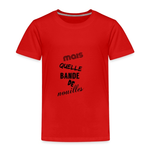 mais quelle bande de nouilles - T-shirt Premium Enfant