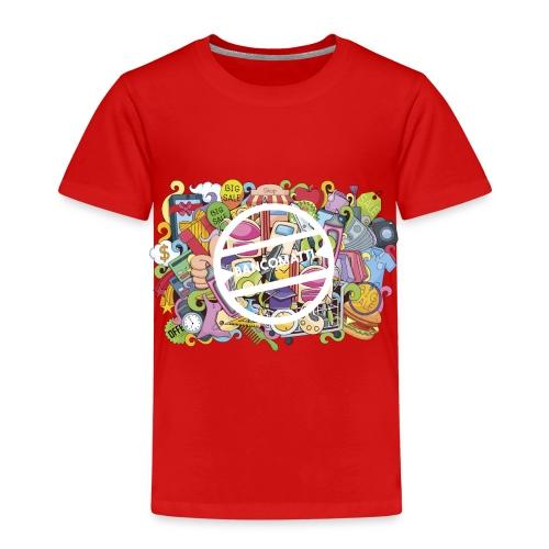 bancomatti doodle marchio bianco - Maglietta Premium per bambini