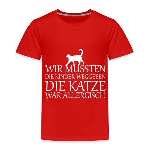Katze Katzen Haustier Miau Geschenk - Kinder Premium T-Shirt