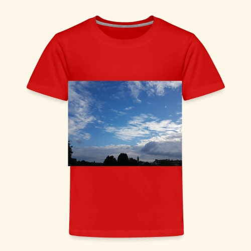 himmlisches Wolkenbild - Kinder Premium T-Shirt