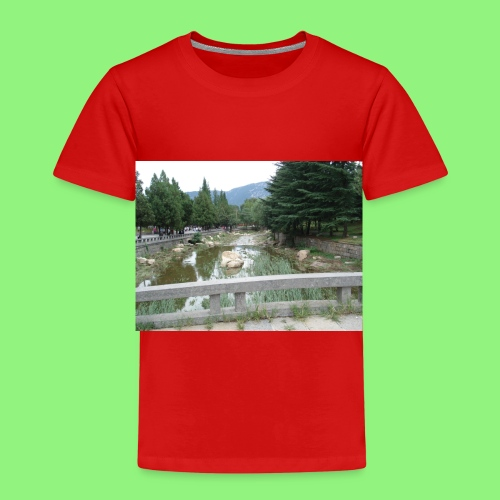 Fluss China 1400xX - Kinder Premium T-Shirt