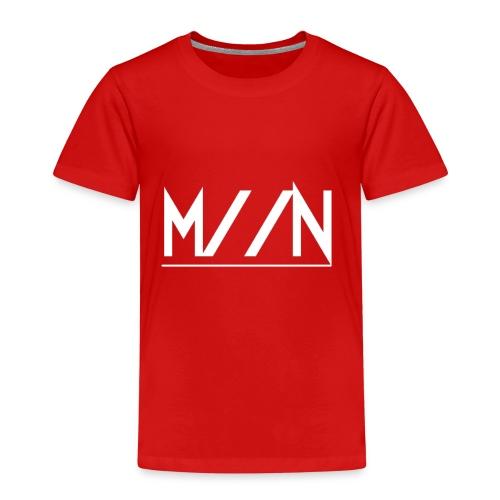 M//N white - Kinderen Premium T-shirt