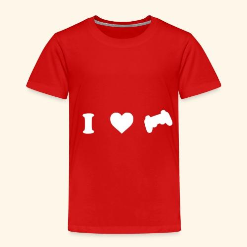 I love videogames - Camiseta premium niño