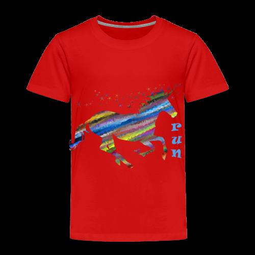 kunterbuntes Einhorn - Kinder Premium T-Shirt
