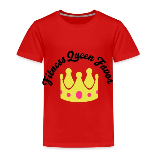 Fitness Queen Favor - Kids' Premium T-Shirt