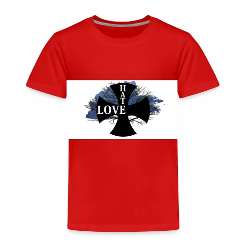 Love hate T SHIRT - Kids' Premium T-Shirt