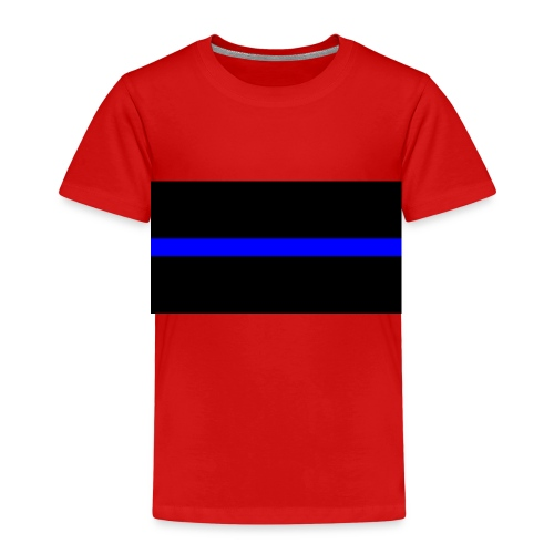 Thin Blue Line - Premium-T-shirt barn