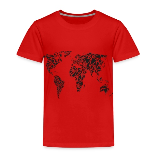 weltkarte - Kinder Premium T-Shirt