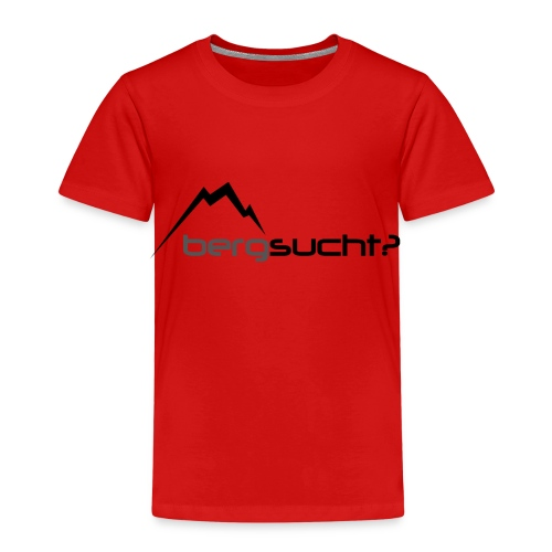 bergsucht - Kinder Premium T-Shirt