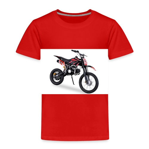 Crossbike JC125 cc Schwarz 48422D31323 - Kinder Premium T-Shirt