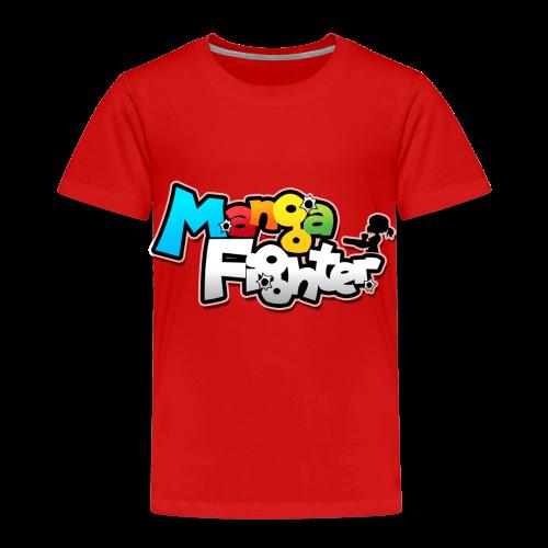 MangaFighter - Logo Desing - Kinderen Premium T-shirt