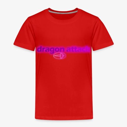Dragon Attack violett - Kinder Premium T-Shirt