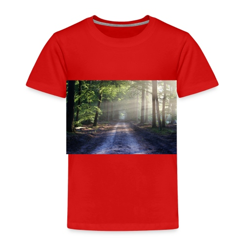 Super Ausblick im Wald Design - Kinder Premium T-Shirt