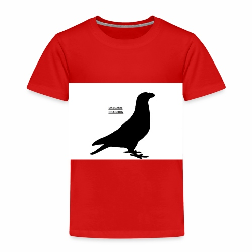 Dragoon*Taube*Rassetaube*Ausstellung*Züchter* - Kinder Premium T-Shirt