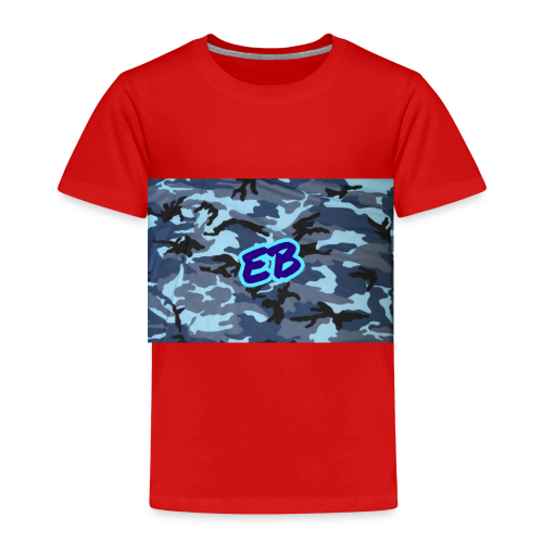 Ellibradyoffical blue camo - Kids' Premium T-Shirt