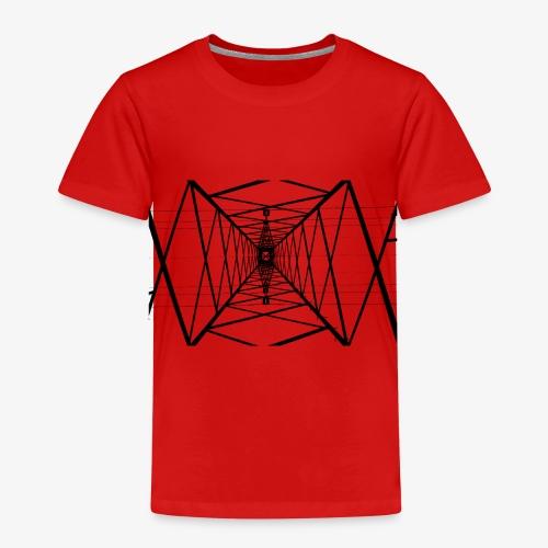 Quermast V2 Schwarz - Kinder Premium T-Shirt