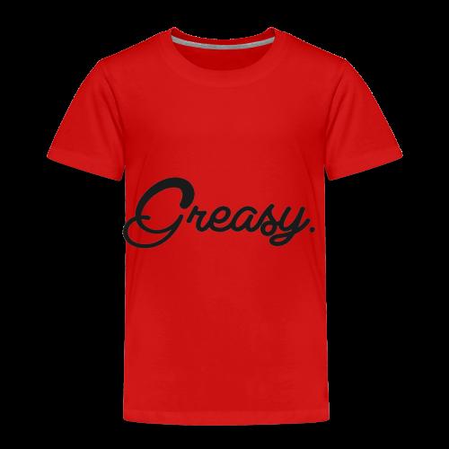 Greasy T-Shirt - Kinderen Premium T-shirt