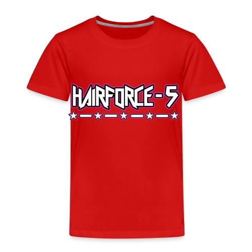 HF5 stars logo white - Kids' Premium T-Shirt