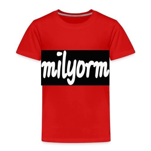 Milyorm - Camiseta premium niño