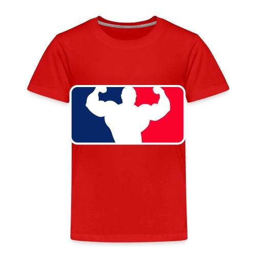 Bodybuilding Logo Im League-style - Kinder Premium T-Shirt