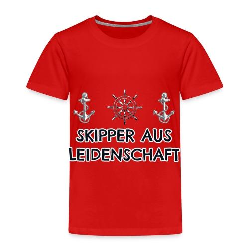 Skipper aus Leidenschaft - Kinder Premium T-Shirt