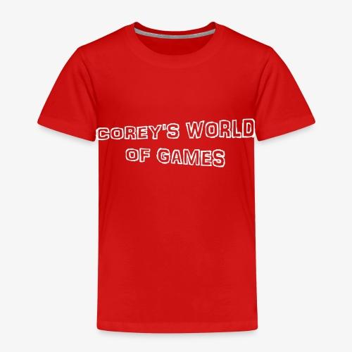 Coreys World Of Games - Kids' Premium T-Shirt