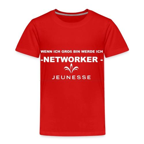 WENN ICH GROß BIN - Kinder Premium T-Shirt