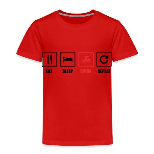 Schwimmen. Schwimmer. Swimming. Geschenk - Kinder Premium T-Shirt
