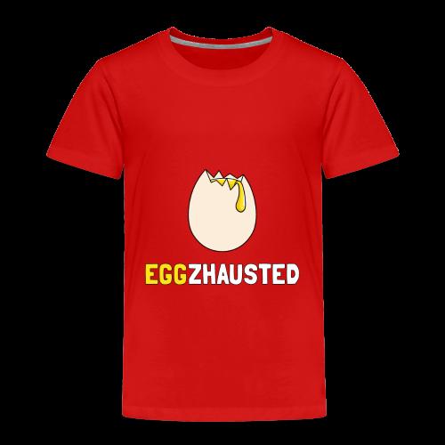 EGGZHAUSTED - T-shirt Premium Enfant