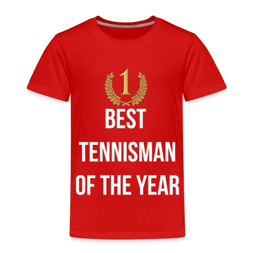 Best tennisman of the year - T-shirt Premium Enfant