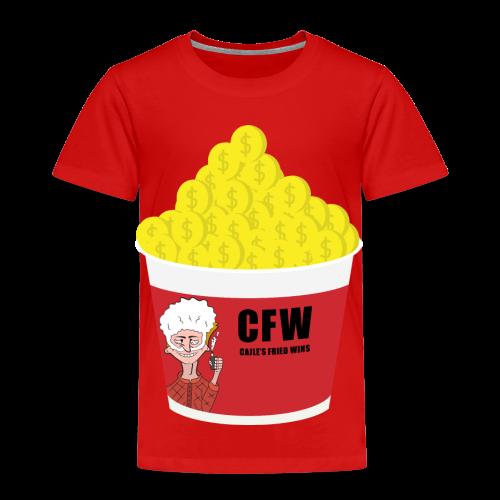 FIRED WIN - Premium-T-shirt barn