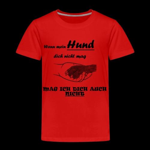 Hundeliebhaber T-shirt - Kinder Premium T-Shirt