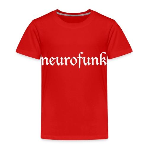 Neurofunk White - Koszulka dziecięca Premium