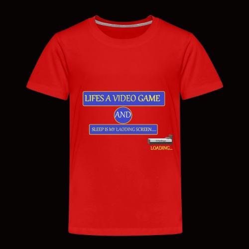 video sleep - Kids' Premium T-Shirt