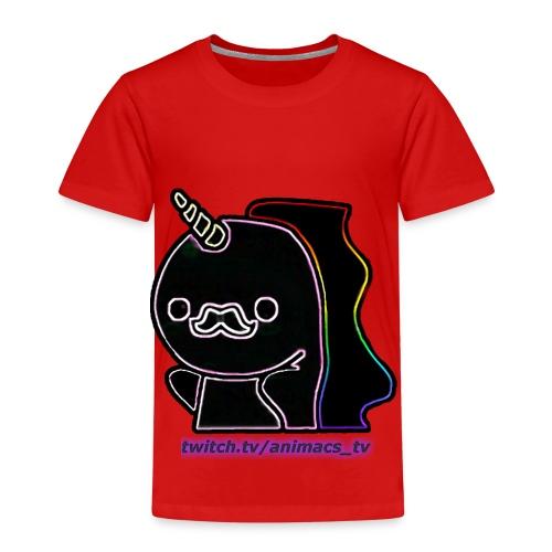 Einhornneon randlos - Kinder Premium T-Shirt