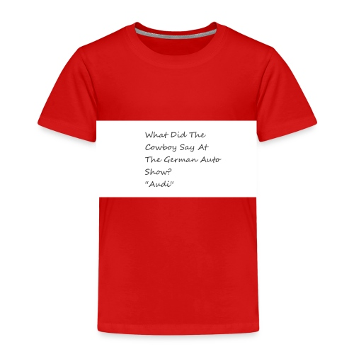 Car Joke - Kids' Premium T-Shirt