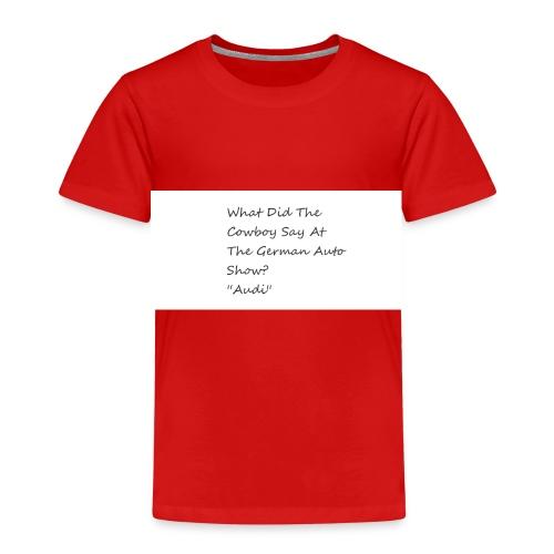 Car Joke - Kids' Premium T-Shirt