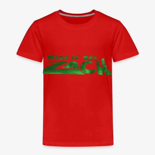 Wooa is des Zach - Kinder Premium T-Shirt