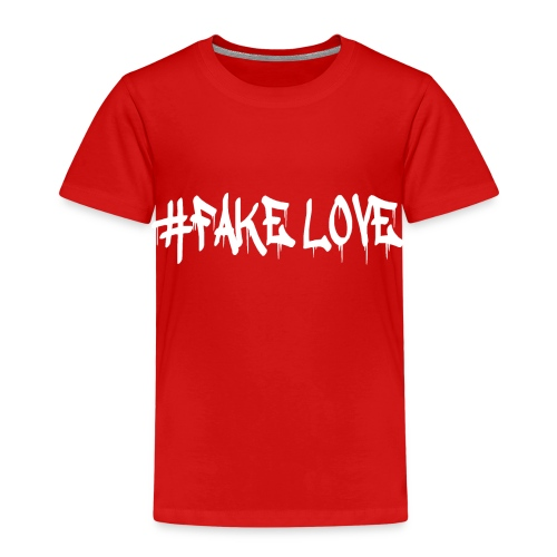 #FAKE LOVE /WHITE - T-shirt Premium Enfant