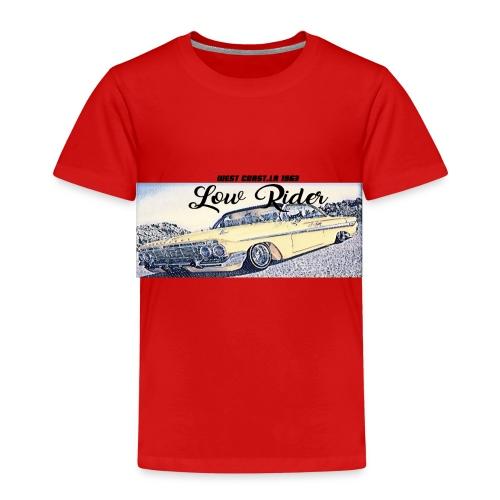 Lowrider impala 1963 vato loco west coast tshirt - Kids' Premium T-Shirt