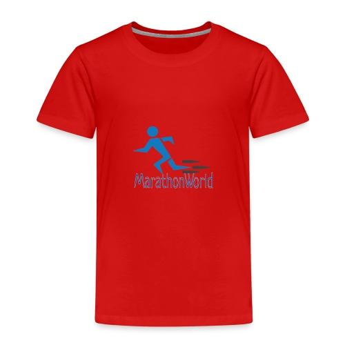 MarathonWorld - Maglietta Premium per bambini